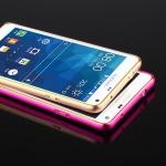 เคส Samsung A7 เคสซัมซุงA7 เคสซัมซุงเอ7 เคสกรอบ Bumper เคสแบบกรอบกันกระแทก สีเงิน