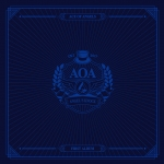 [Pre] AOA : 1st Album - ANGEL'S KNOCK (B Ver.) +Poster