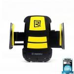 ที่หนีบโทรศัพท์มือถือในรถยนต์ รุ่น Stand RM-C3 (ดำ/เหลือง) - REMAX