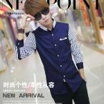 เสื้อเชิ๊ต แฟชั่นเกาหลี รุ่น C01 เสื้อผ้าทอม[Pre-Order]