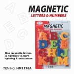 First Classroom - Magnetic ABC ตัวอักษรแม่เหล็ก แบบแผง