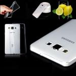 เคส Samsung A7 เคสซัมซุงA7 เคสซัมซุงเอ7 เคสฝาหลังแบบซิลิโคลนนิ่ม แบบใสโชว์เครื่องดีไซน์สวย
