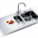 อ่างล้างจาน FRANKE รุ่น EOV 651 LHD WHITE