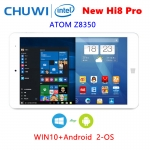 Chuwi ใหม่ Hi8 Pro 2-OS: Android 5.1+ WIN10 จอ 8 นิ้ว 1920x1200 Intel Z8350 1.92GHz มีช่อง HDMI/USB Type-C 4000mAh