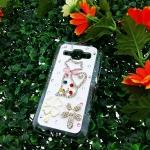 เคส Samsung J1 เคสคริสตัล รูปแมวน่ารัก ขายดีมาก