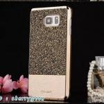Hojar Case For Samsung Galaxy S6 Edge Plus G9280 Half Diamond & Pu leather Back Cover