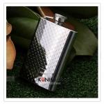 K016N กระป๋องใส่เหล้า (4OZ) 120 cc. ขนาด สูง 10.5 x 7 cm. สแตนเลสอย่างดี กระป๋อง ขวด ใส่เหล้า ใส่เครื่องดื่ม กะทัดรัด พกพา สะดวก