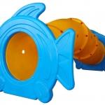 อุโมงค์ปลาการ์ตูน SIZE:148X304X130 cm.
