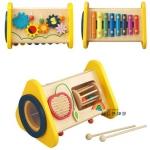 เครื่องดนตรีไม้ All In One ของเล่นไม้แบรนด์ดังจากญี่ปุ่น Ed Inter (Multifunctional Music Knock by Ed Inter)