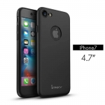 iPaky case 360 degree case iPhone 7 -Black