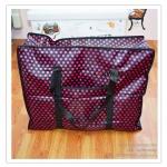 GH067 กระเป๋าจัดเก็บเสื้อผ้า ใส่ผ้าห่ม ผ้าเช็ดตัว ของใช้ต่างๆ ป้องกันฝุ่น ผ้าทอเคลือบกันน้ำ