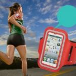 สายรัดแขน ซองกันน้ำแบบสายรัดแขน Arm Band สำหรับไอโฟน 6/6s
