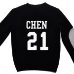 เสื้อ EXO SBS Inkigayo Black / Chen