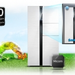 ตู้เย็น SAMSUNG SIED BY SIDE RS552NRUAWW/ST 20.6 Q ราคาพิเศษ