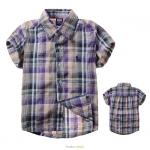 เสื้อผ้าเด็ก ลายสก๊อต ไซส์ 5
