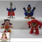 ย้อนอดีตของสะสมวันวาน : McDonald Happy Meal : Looney Toons Super Hero Clip on ออกปี 1991