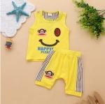 เสื้อ Paul Frank + กางเกงสีเหลือง ไซส์ 130-140-150-160