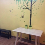 โต๊ะดีไซน์สวย สไตล์โมเดิร์น สำหรับร้านอาหาร ร้านกาแฟ ร้านบอร์ดเกมส์