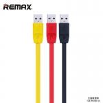 สายชาร์จโทรศัพท์มือถือ แบบชาร์จไวชาร์จเต็มเร็ว Remax Full Speed สำหรับไอโฟน 5/5S/6/6PLUS สีดำ - Remax