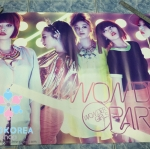 [Poster พร้อมส่ง 1 ใบ] Wonder Girls : 1st Mini Album - Wonder Party
