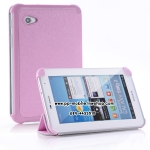 Belk Series Cross Texture Samsung Galaxy Tab 2 7.0 Smart Case 3-fold Cover