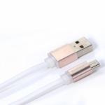 สายชาร์จโทรศัพท์มือถือ USB สำหรับ Android (1M,V2) สีขาว - Remax