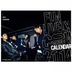 [Pre] FT Island : 2014 Season Greeting - Calendar Set [Calendar(Wall+Desk) + New Year`s Card + Mini Photo]