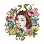[Pre] HyunA : 5th Mini Album - A'wesome +Poster
