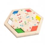 โดมิโนรูปทรงหกเหลี่ยม (Hexagon Domino set)