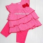 เสื้อ+กางเกง Wandee ลาย pinkไซส์ 6ด(2ชุด)