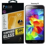 Focus โฟกัส ฟิล์มกระจกนิรภัย ฟิล์มกันรอยมือถือ Samsung Galaxy S5 (i9600) ซัมซุงกาแล็คซี่เอส5
