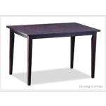 โต๊ะไม้จริง ขนาด 90x150xh75 ซม. (รับสั่งทำโต๊ะตามขนาด)