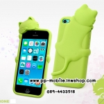 3D Deere Diffie Cat Series Silicone Shell Cover for Iphone5s