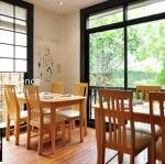 ชุดโต๊ะอาหาร เก้าอี้ ร้านอาหารญี่ปุ่น (AB-SET)