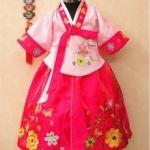 ชุดฮันบกเด็ก ชุดประจำชาติเกาหลีเด็ก มี ขนาด XXL