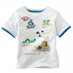 เสื้อเด็กเนื้อนิ่ม ลาย Island ไซส์ 18-24ด,2,4,5,6 ปี