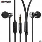 ขายดีมาก หูฟังพร้อมสมอล์ลทอล์ค สายแบน นำ้หนักเบา ใช้ได้ทั้ง IOS และแอนดรอยด์ Small Talk RM-565i สีดำ - Remax