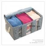 GH053 กระเป๋าใส่เสื้อผ้า กันฝุ่น กันเปื้อน เนื้อผ้าผสมผงถ่านคาร์บอนช่วยลดกลิ่นอับชื้นได้