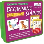 Creative Educational Aids ชุด Beginning Sounds - Consonant (Plastic box)