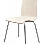 เก้าอี้ดีไซน์ขาเหล็กชุบโครเมี่ยม สำหรับร้านอาหาร ฟู้ดคอร์ท (HD-DESIGN)