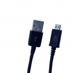 สายชาร์จสำหรับโทรศัพท์มือถือ ความยาว 1 เมตร สำหรับ Android รุ่น Tronta USB Cable - สีดำ