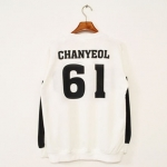 เสื้อ EXO SBS Inkigayo White / Chanyeol