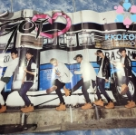 [Poster พร้อมส่ง 1 ใบ] GOT7 : 2nd Mini Album - GOT&#x2661 (GOT LOVE) (Walk Ver.)