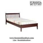 เตียงนอนไม้ 3.5 ฟุต ดีไซน์สวย สำหรับคอนโด โปรโมชั่นราคาพิเศษ เฉพาะเดือนนี้เท่านั้น !!!