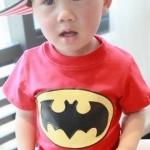 เสื้อเด็กแขนสั้น ลายRed-Batman ไซส์ ไซส์ 12ด,18ด,23ด