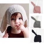ฺฺฺฺฺฺBB041 หมวกไหมพรมเด็ก แต่งหูกระต่ายยาว น่ารัก ไหมพรมเนื้อนุ่ม ใส่สบายคะ สำหรับด็กอายุประมาณ 5 เดือน - 2 ปี ใส่ได้ทั้ง เด็กผู้ชาย และเด็กผู้หญิง