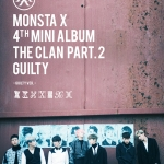 [Pre] Monsta X : 4th Mini Album - THE CLAN 2.5 PART.2 GUILTY (GUILTY Ver.) +Poster