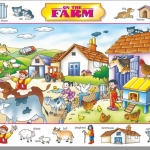 Creative's ของเล่นเสริมทักษะ ชุด picture talk - On the Farm