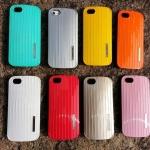 เคสไอโฟน 5S/5 เคสแบบฝาหลังสีสัดสดใสสีแดง