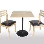 โต๊ะขาแชมเปญพร้อมเก้าอี้ 2 ที่นั่ง สำหรับร้านกาแฟ (VN-SET)